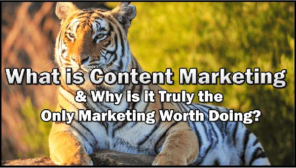 What is Content Marketing & Why is it Truly the Only Marketing Worth Doing